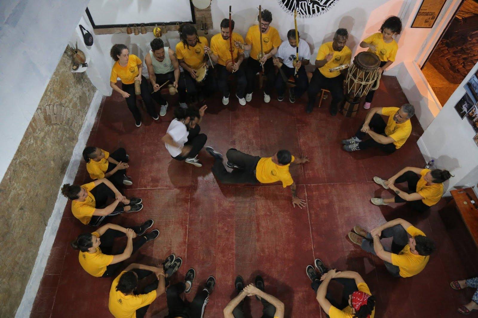 ronde de capoeira