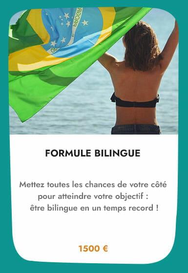 cours de portugais brésilien formule bilingue